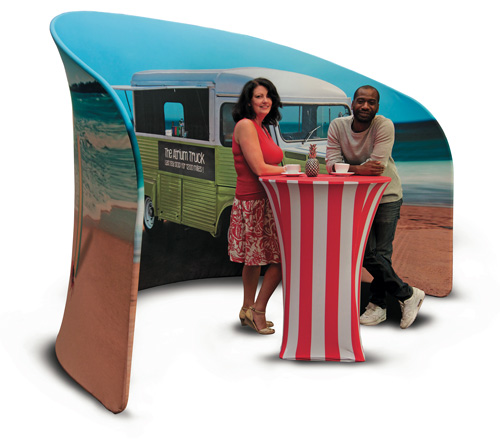 Fabric Exhibition Stand Year : Steal the show with a fabric display eggshell solutions